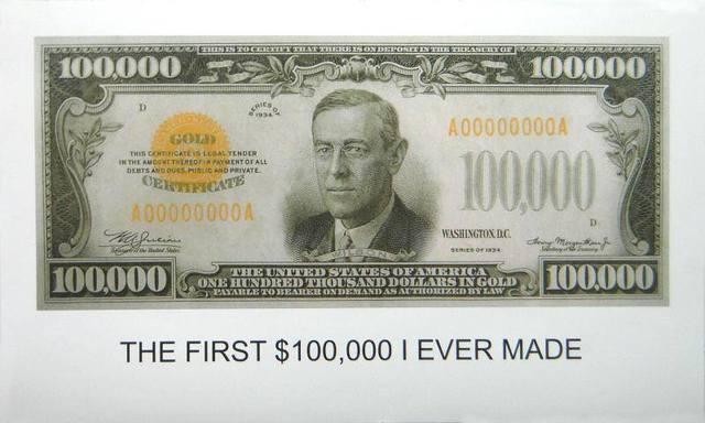 John Baldessari, 'The First $100,000 I Ever Made', 2012, Kenneth A. Friedman & Co.
