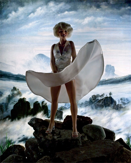 , 'Winter Above a Sea of Ice (Marilyn),' , Madrona Gallery