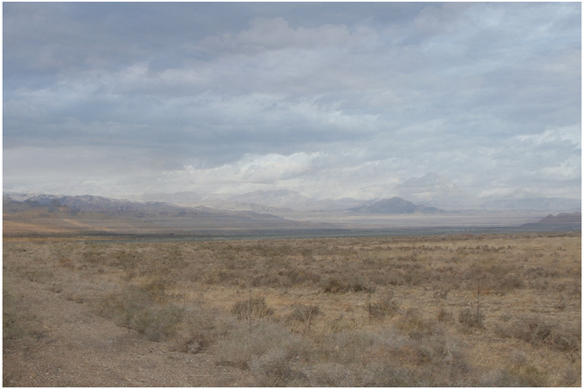 , 'Four Years out of a Life Sentence (Desert),' 2009-2016, Mark Moore Fine Art