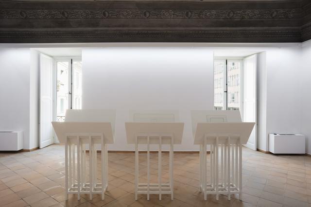 Jan Vercruysse, 'Les Paroles [Letto] VII', 1999, Vistamare/Vistamarestudio