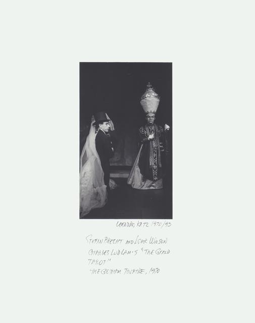 ", 'Charles Ludlam's ""Eunuchs of the Forbidden City"", Theatre for the New City,' 1971-1995, Herlitzka + Faria"