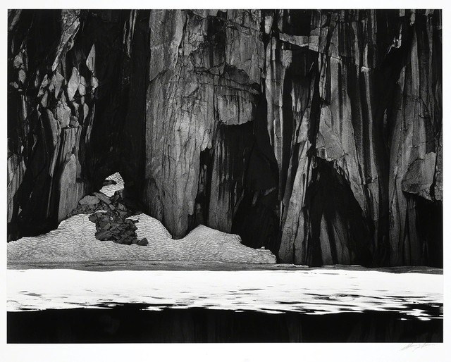 , 'Frozen Lake and Cliffs, The Sierra Nevada, California,' 1927, Peter Fetterman Gallery