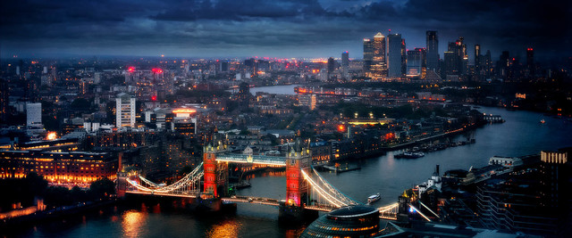 David Drebin, 'London', 2019, Photography, C-print, Atlas Gallery
