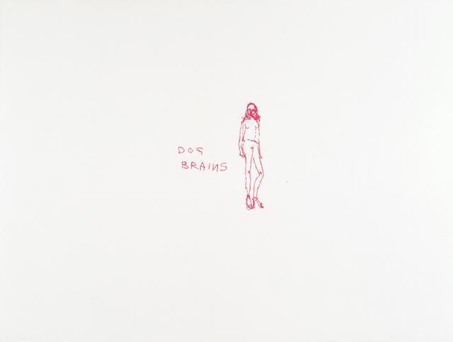 Tracey Emin, 'Dog Brains', 2000, Filter Fine Art