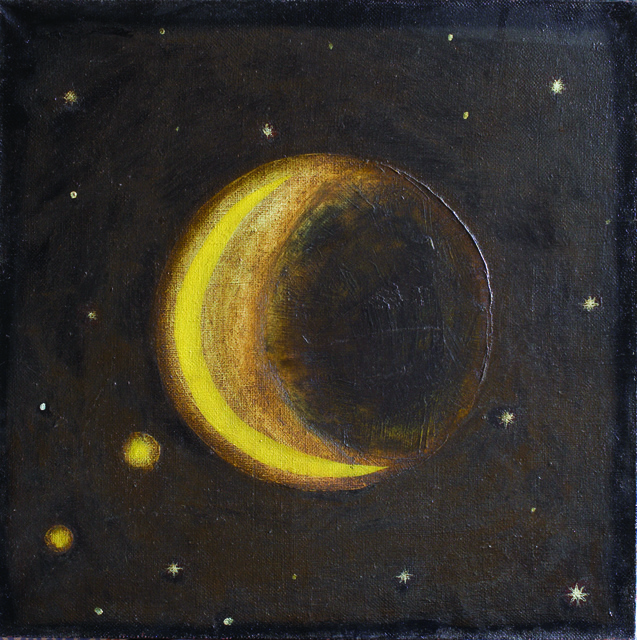 ", '#5 from the series ""Planets"",' 1996, Gallery 21"