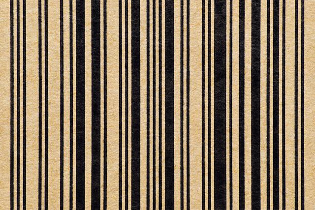 , 'faces_barcode_1,' 2015, KANA KAWANISHI GALLERY