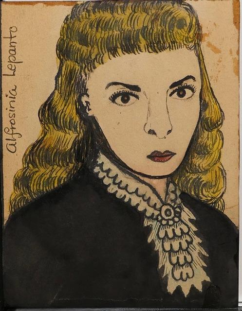 , 'Alfrosinia Leponto,' 1950, Ricco/Maresca Gallery