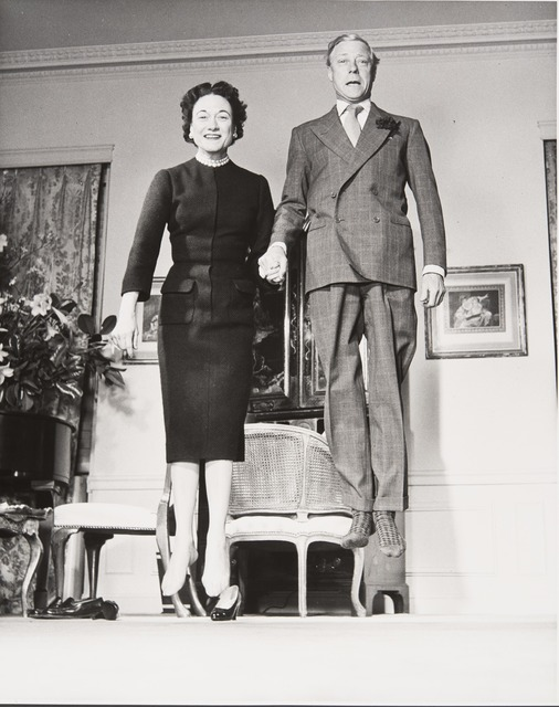 , 'The Duke and Duchess of Windsor,' 1956, Jeu de Paume