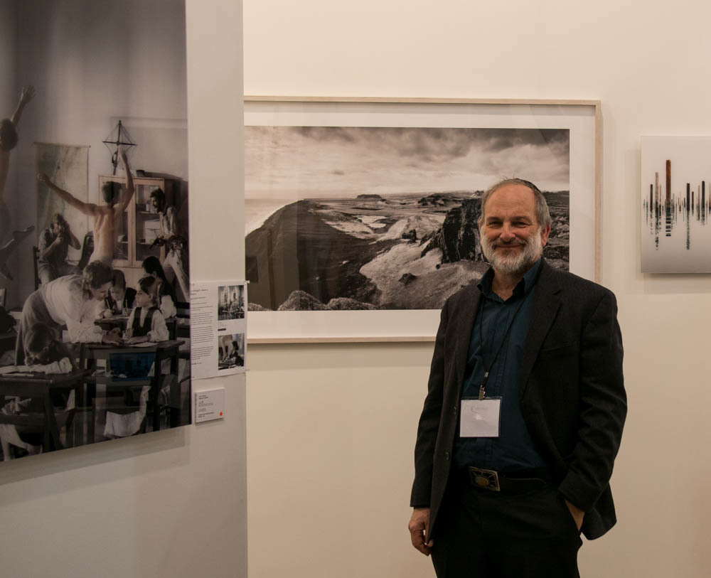 Neil Folberg of Vision Gallery at Art Toronto 2014