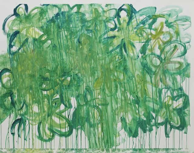 Ellie Omiya 大宮エリー, 'Forest', 2015, Painting, Acrylic, Tomio Koyama Gallery