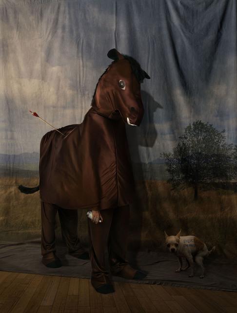 , 'Kuda dan Pemandangan,' 2017, Mizuma Art Gallery