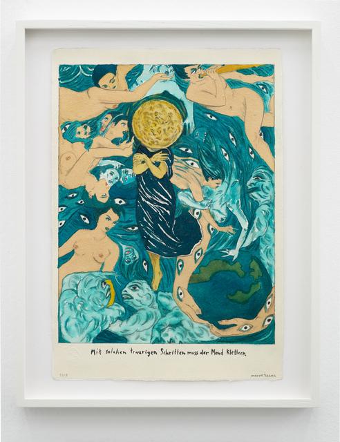 Marcel Dzama, 'With such sad steps the moon must climb.', 2019, Sies + Höke