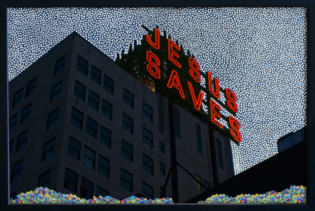 , 'JESUS SAVES,' 2010, Kuckei + Kuckei