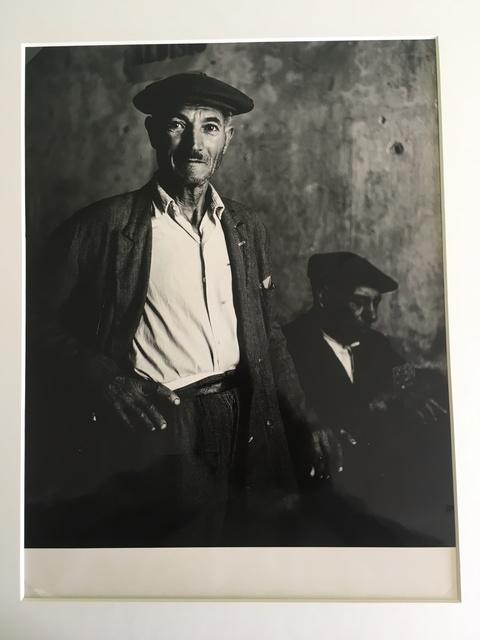 , 'Uomo siciliano,' 1957, SAGE Paris