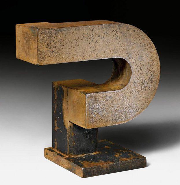 James Licini, 'Haken', 1991, Sculpture, Bronze, Koller Auctions