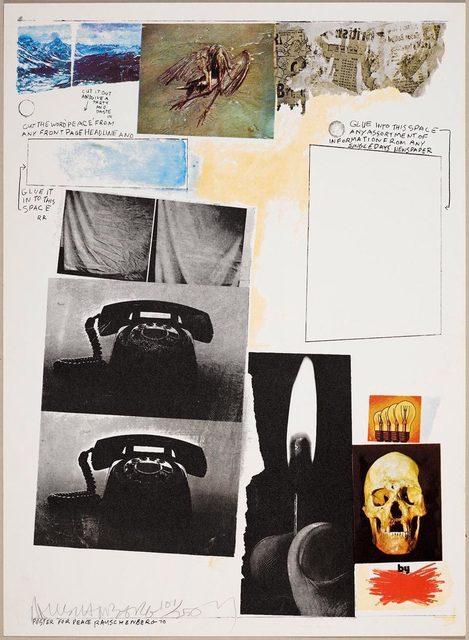 Robert Rauschenberg, 'Poster for Peace', 1971, Koller Auctions