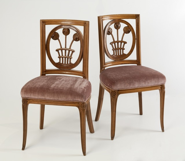 , 'Rare Pair of Side Chairs,' ca. 1913, Maison Gerard