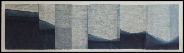 , 'Indigo Mountain,' 2017, Verne Collection, Inc.