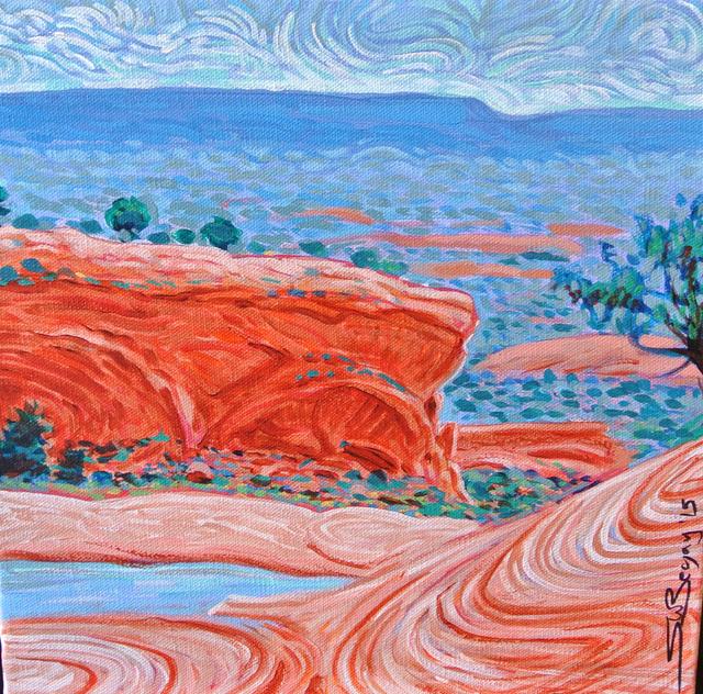 Shonto Begay, 'Valley View Over Oak Creek', 2015, Modern West