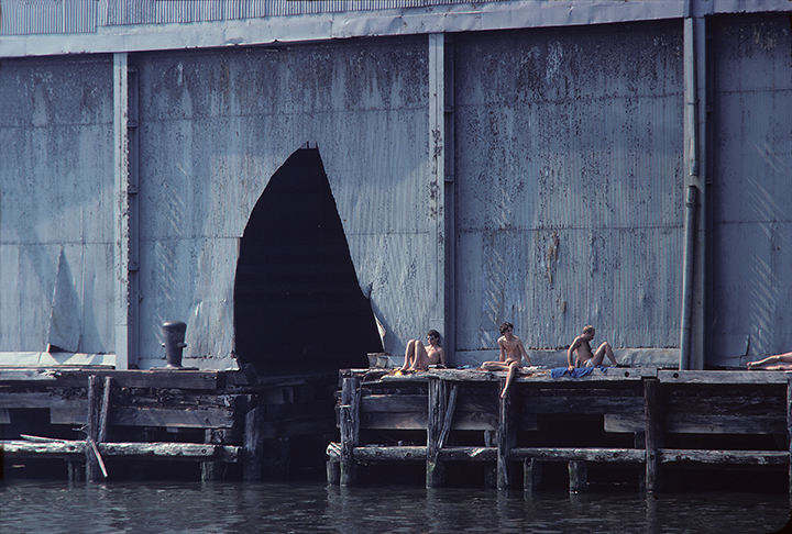 Shelley Seccombe Pier 52 1978 Color photograph 13 x 19 in. Courtesy of the artist.