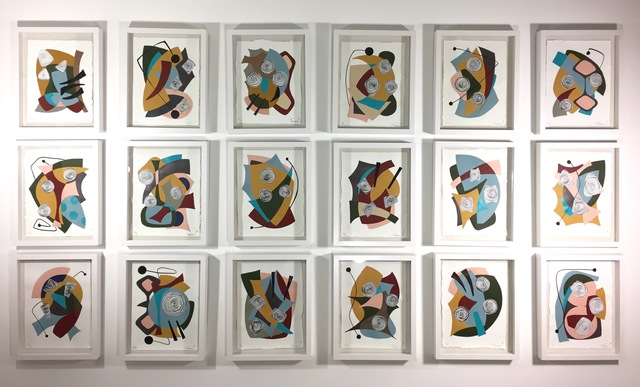 Amauri Torezan, 'Shadow Box 18 piece installation as a whole', 2017, Oliver Cole Gallery