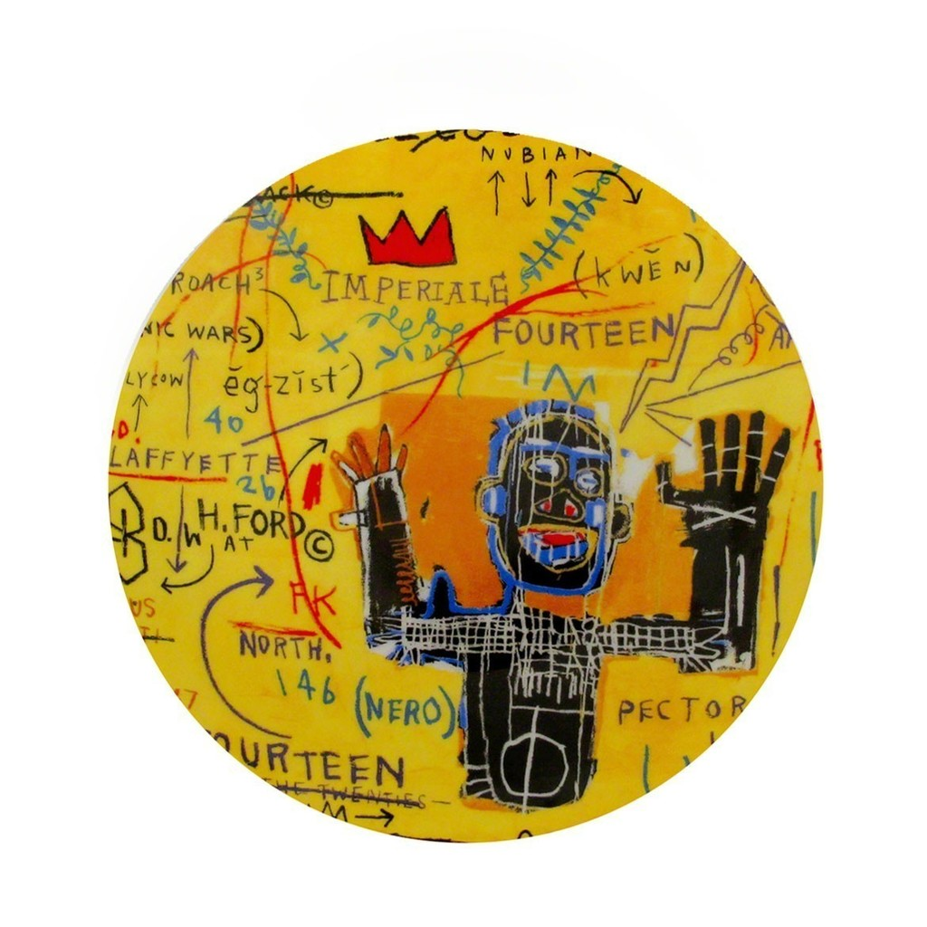 Colored cast - After Jean Michel Basquiat All Colored Cast Plate Msp Modern