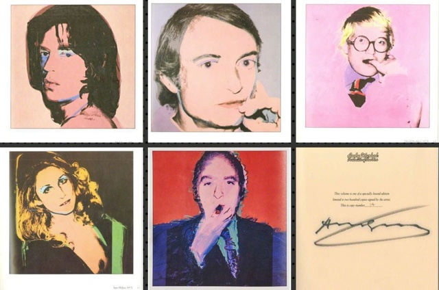 Andy Warhol, 'Portraits of the 1970s (Limited Edition Monograph of 120 Bound Offset Lithographs in Slipcase) Hand Signed, Numbered  by Warhol (Whitney Museum)', 1979, Alpha 137 Gallery Auction