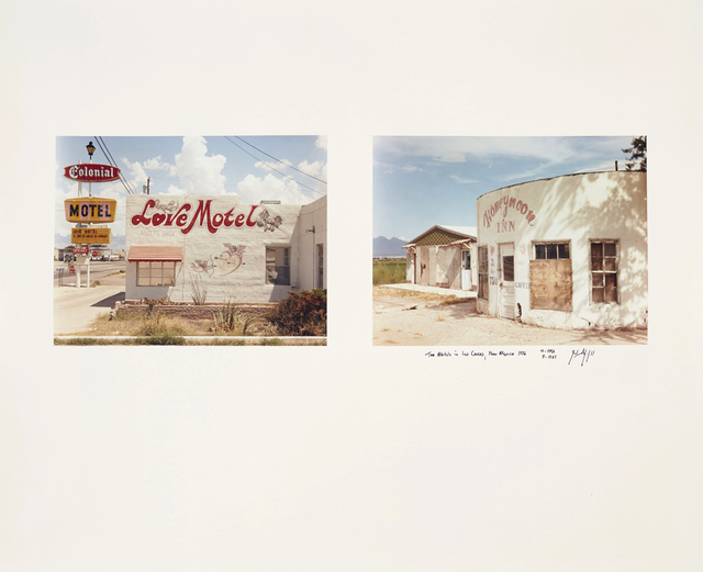 , 'Two Motels in Las Cruces, New Mexico, 1986,' 1986, Huxley-Parlour