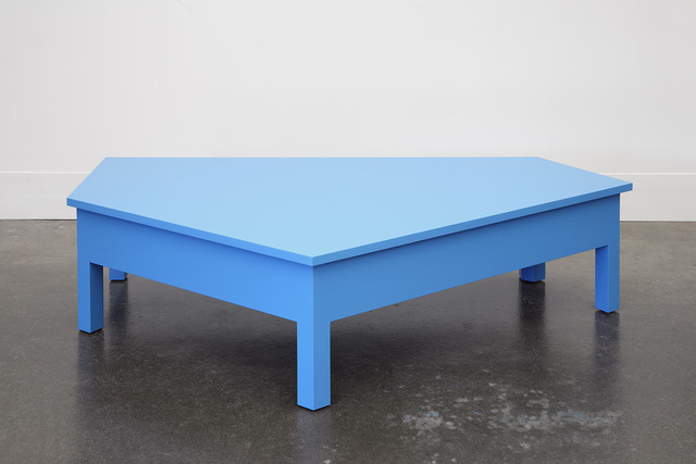, 'A Simple Blue Coffee Table,' 2014, Domestic Furniture
