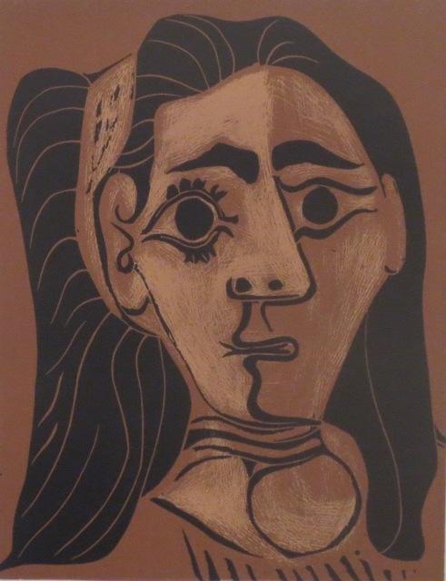 , 'Femme aux cheveux flous (Jacqueline au bandeau II),' 1962, Isselbacher Gallery