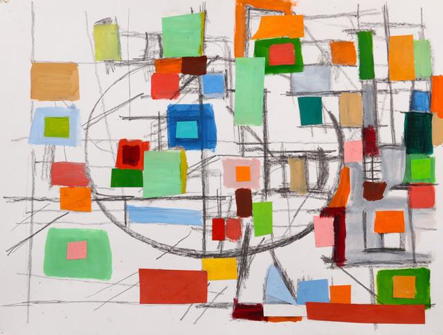 , 'Elliptical Field,' 2017, Bowery Gallery