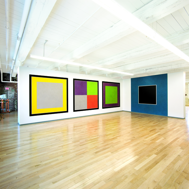 , 'Wall Drawings #583 H & F, #584 H, and #725 ,' 1988, MASS MoCA