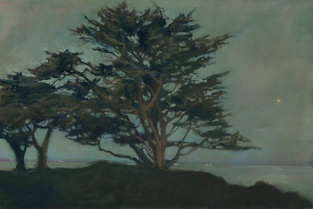 , 'Beneath The cypress ~ Monterey Bay, CA,' 2018, The Guild of Boston Artists