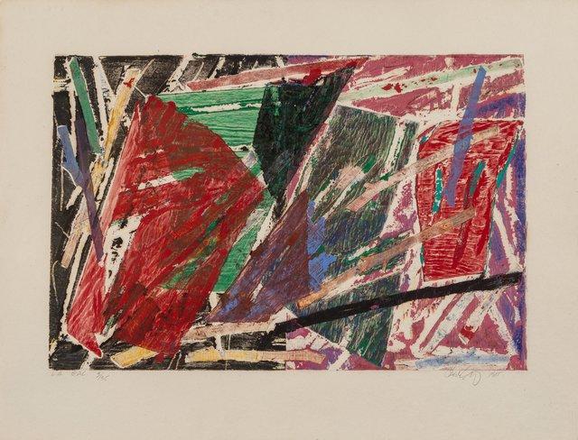 Charles Arnoldi, 'Untitled (LA G.A.L.)', 1985, Heritage Auctions