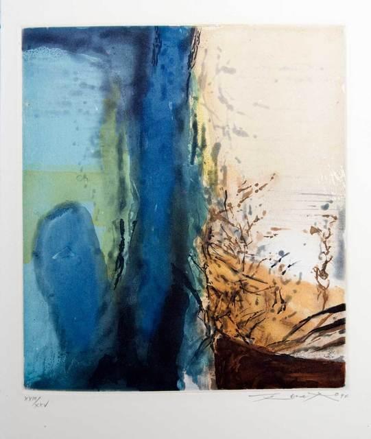 Zao Wou-Ki 趙無極, 'Composition', 1994, Print, Etching and aquatint, Goldmark Gallery
