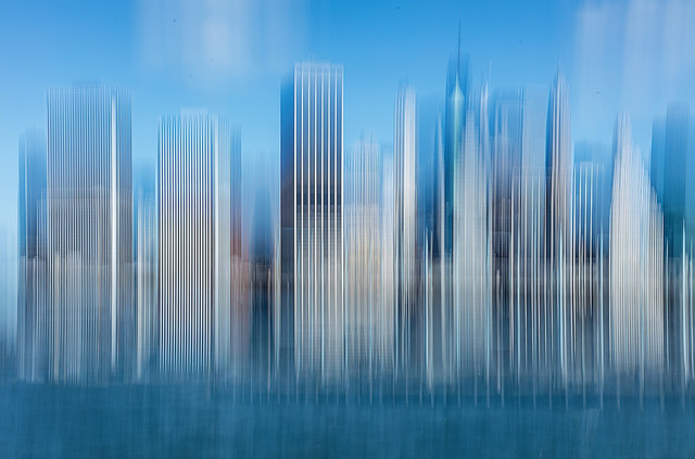 , 'Manhattan Skyline ,' 2016-printed 2017, The Simons Art Gallery