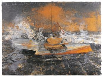 Anselm Kiefer, 'Dein Hausritt die Finstere Welle,' 2005, Sotheby's: Contemporary Art Day Auction
