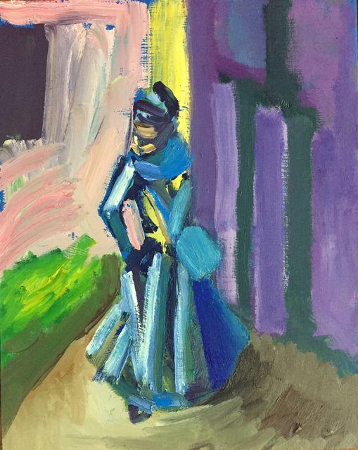 , 'Blue Lady,' 2017, narrative projects