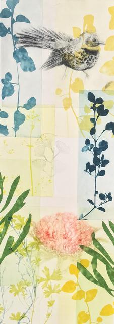, 'bottlebrush bristlebird with waratah,' 2019, Queenscliff Gallery & Workshop