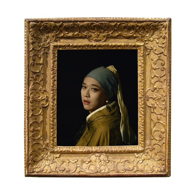 , 'Girl with the Pearl Earring,' 2014, Opera Gallery