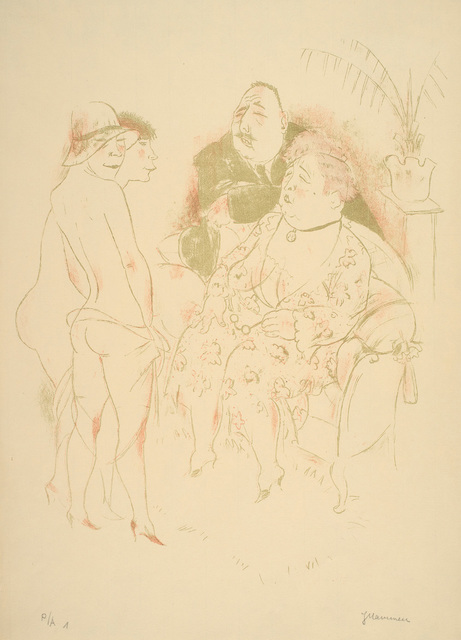 , 'Die Wahl,' 1930-1932, Charles Nodrum Gallery