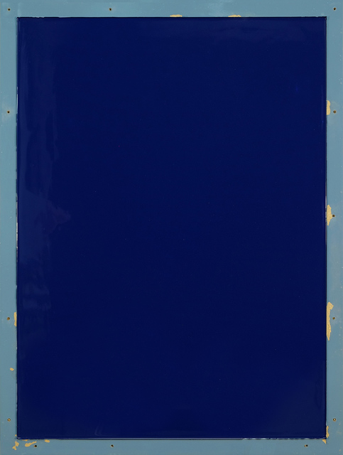 , 'from series Out of imperfection: Blue on blue-gray,' 2016, Baró Galeria