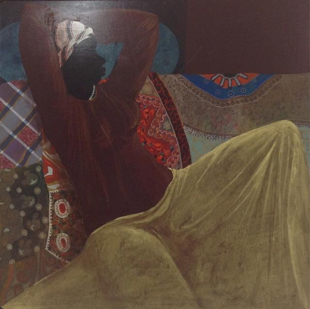 , 'Lady At Rest,' 1977, Myriam Nader Haitian Art Gallery
