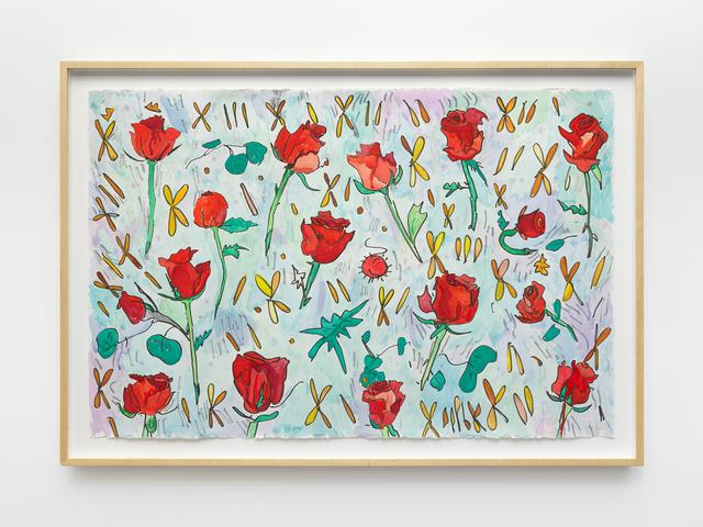 , 'Roses,' 2019, MARTOS GALLERY