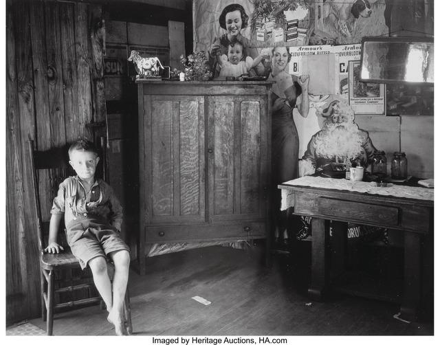 Walker Evans, 'West Virginia Living Room', 1953, Heritage Auctions