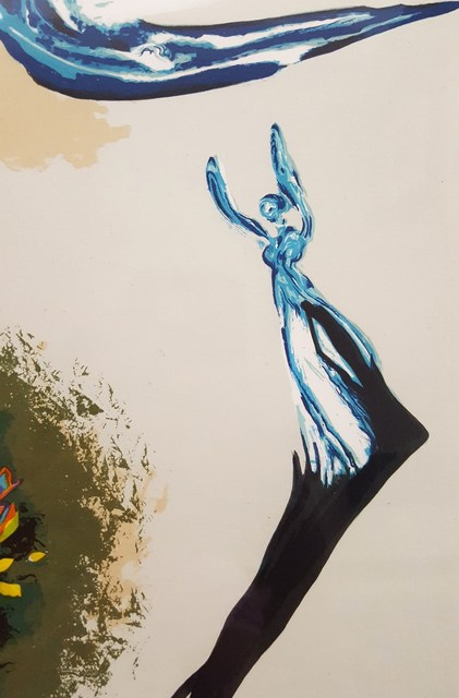 Salvador Dalí, 'The Dream (Apparition of the Rose)', 1978, Print, Lithograph, Graves International Art