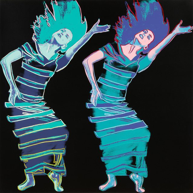 Andy Warhol, 'Satyric Festival Song', 1986, Print, Screenprint, Christopher-Clark Fine Art