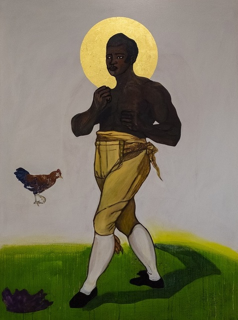 Godfried Donkor, 'St Thomas Molineaux', 2019, Gallery 1957