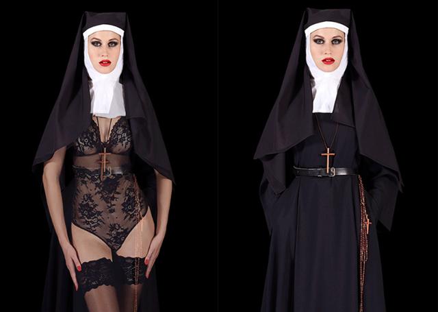 , 'The nun (proche),' 2016, K + Y Gallery