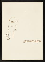 Untitled (Diagram for Douglas/Ace Vancouver Exhibition 1967)